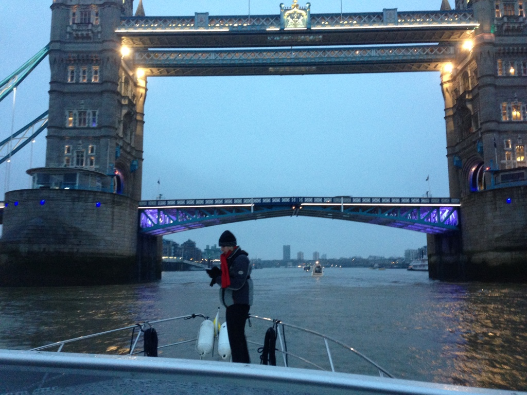 Tower Bridge by boat 2