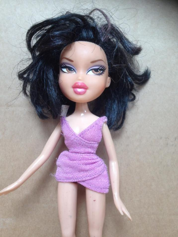 Ruthie doll before