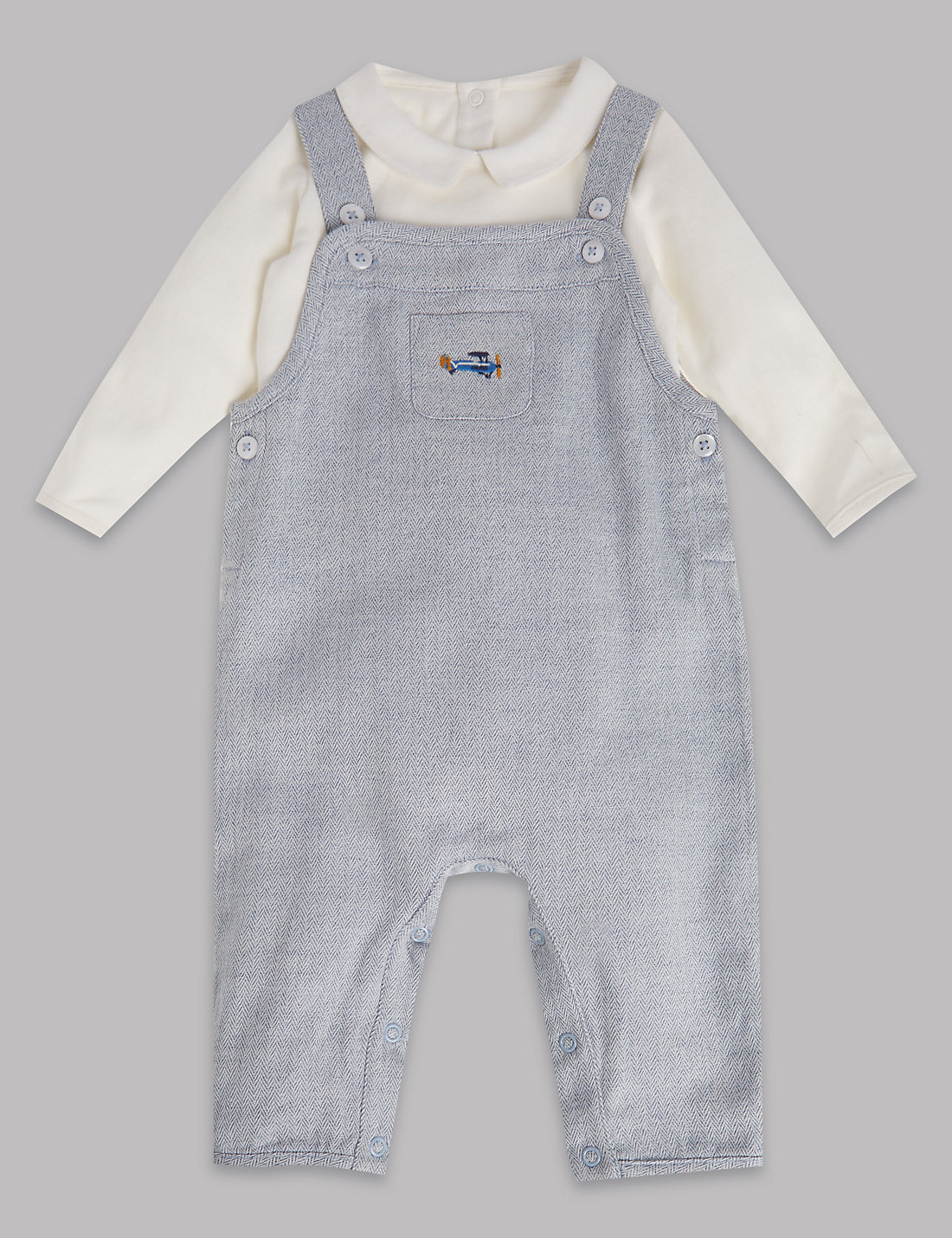 M&S Dungaree set