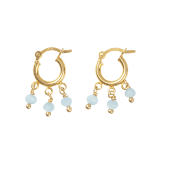 Hush Gold hoop earrings