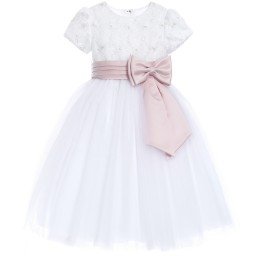 sarah-louise-white-tulle-ballerina-length-dress-pink-belt-97935-63134b0b14eb09b0fcd586db91d925da69c14ced