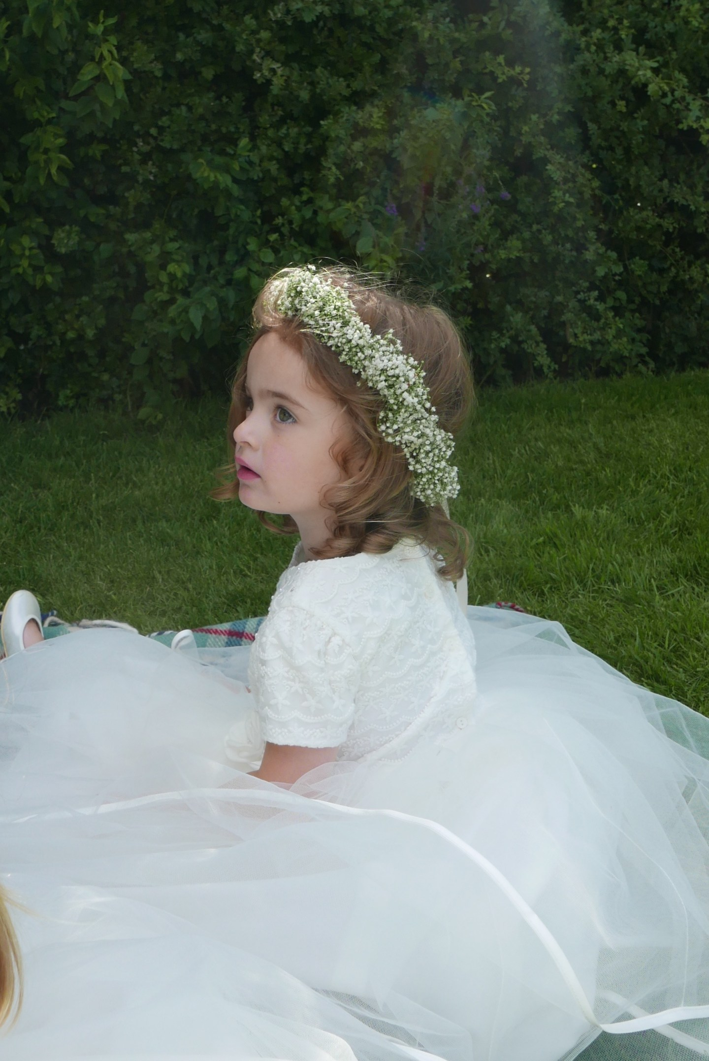 Flower girl dresses – The reveal. What Poppy actually wore for the WEDDING OF THE YEAR