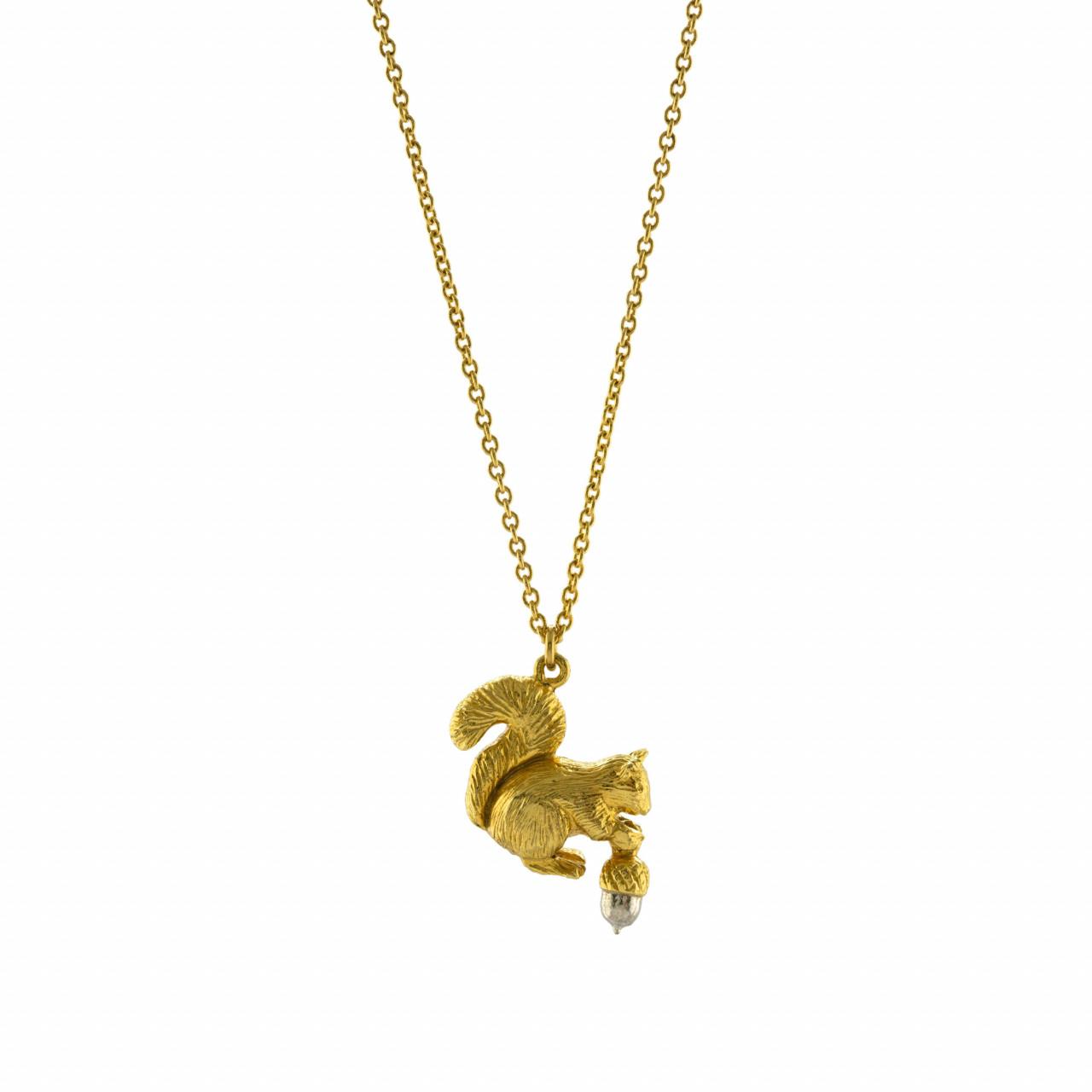 Alex monroe squirrel necklace