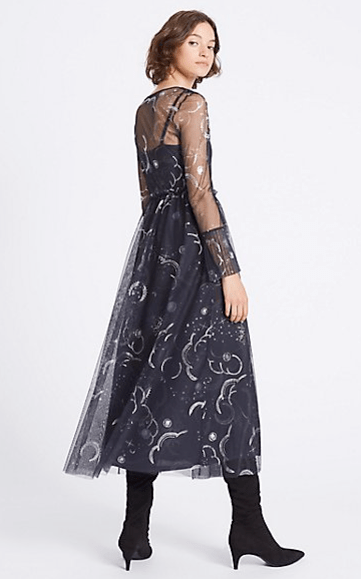 Marks and Spencers moon and stars dress 2