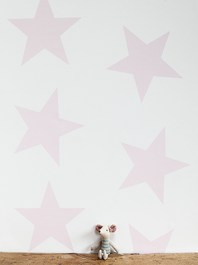 Peony & Sage Twinkle Twinkle Large Star Wallpaper
