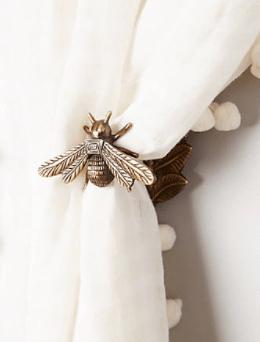 Anthropologie Bee Tie Backs