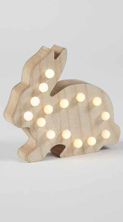 Matalan kids rabbit light