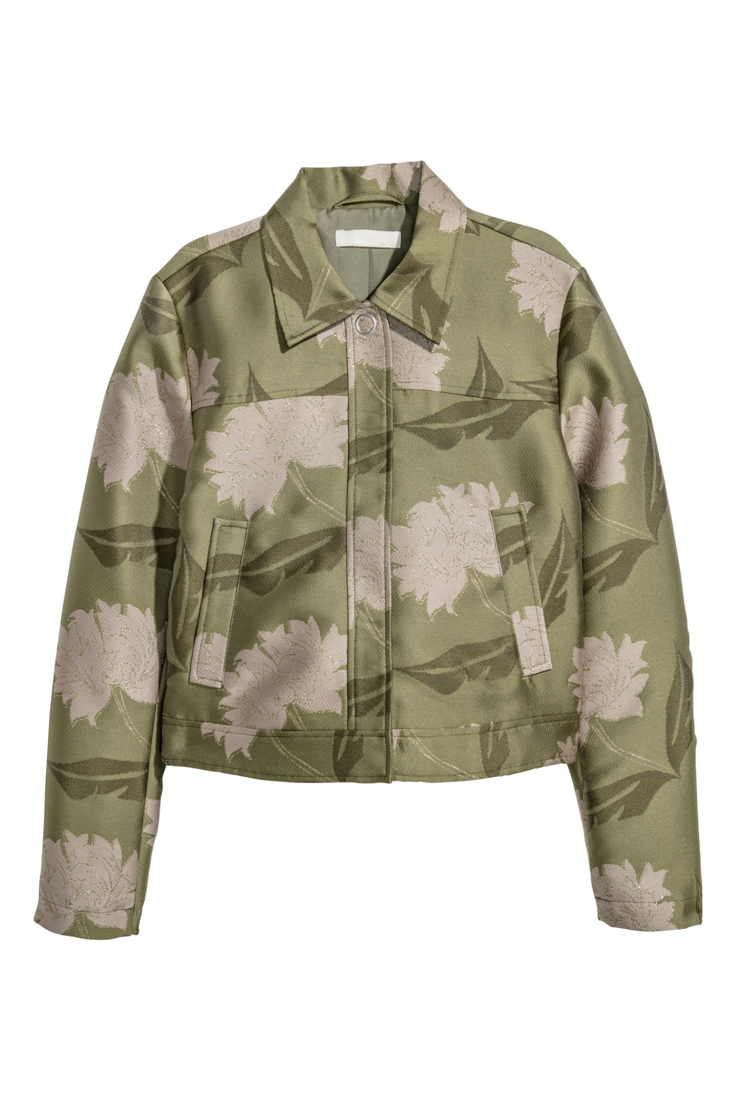 H and M patterned jacket