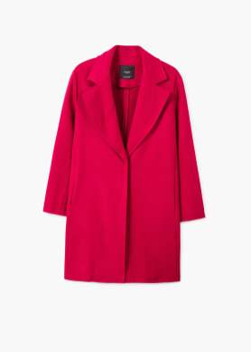 Mango darker pink coat