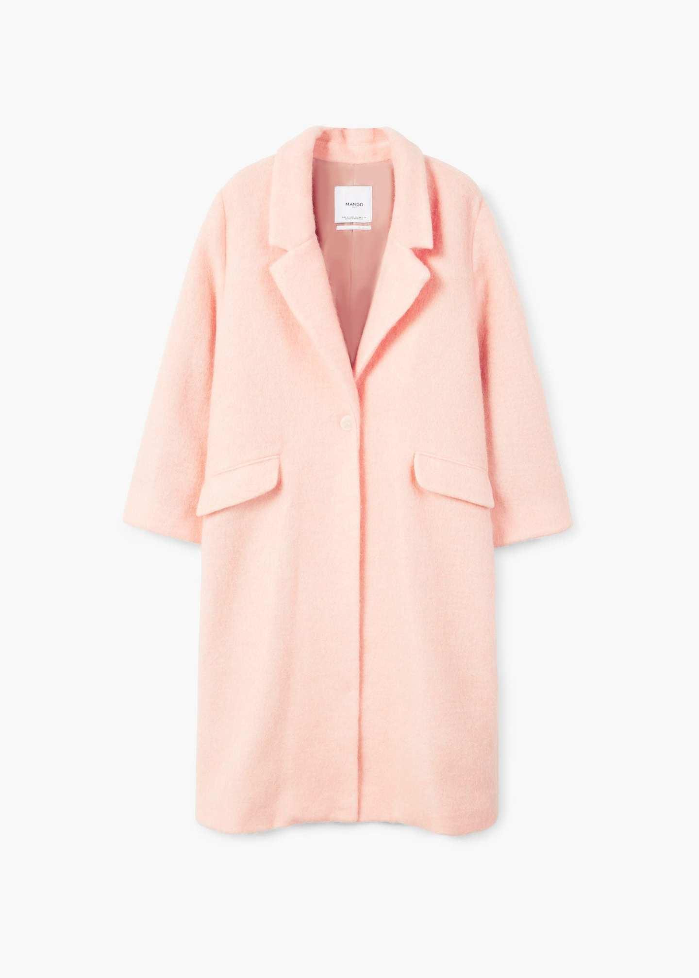 Mango peach coat