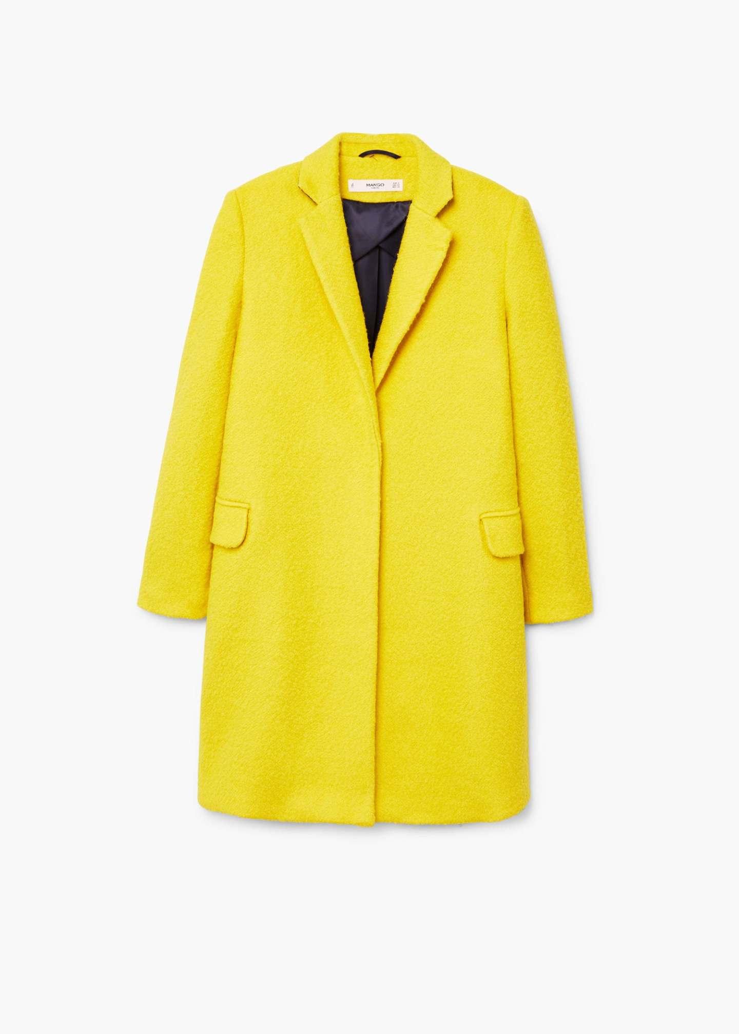 mango yellow coat