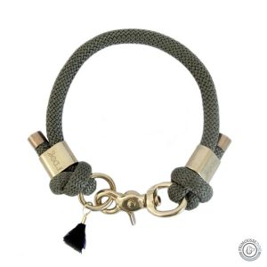 Collier sûr-mesure paracorde « Kaki »