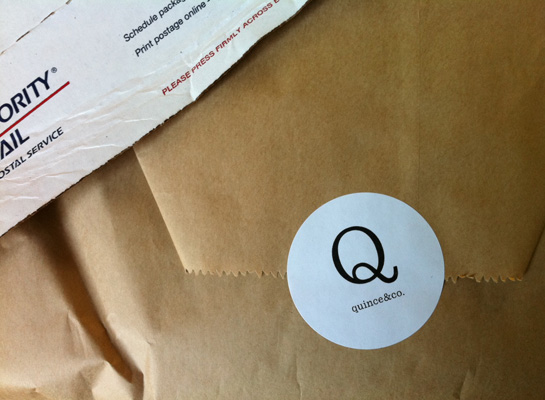 quince & co yarns package