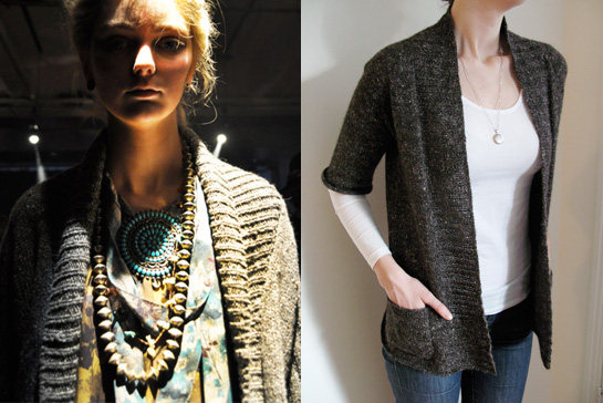 cardigan gretchen jones meganimal