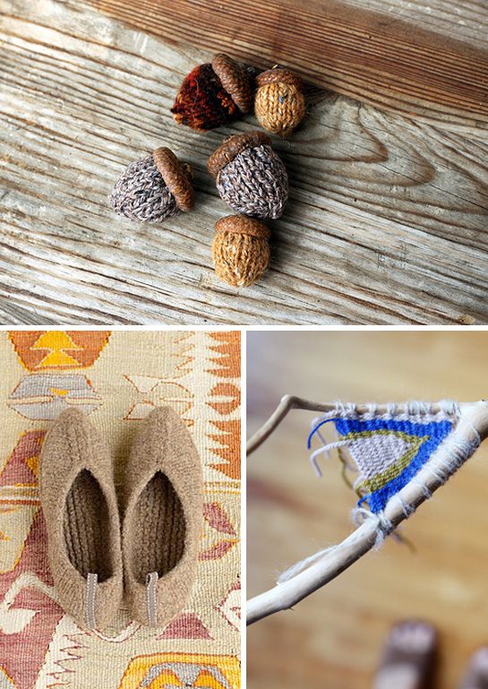 knitting weaving projects for labor day weekend