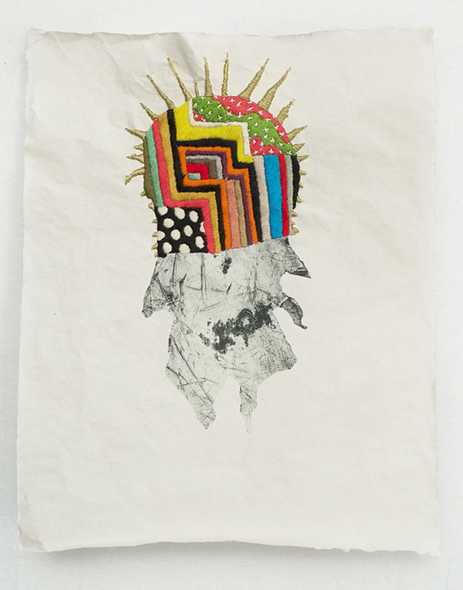 max colby embroidered print