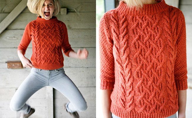 beatnik sweater knitting pattern by norah gaughan