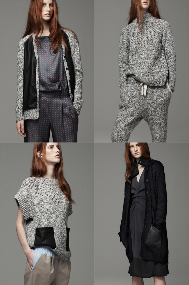 thakoon addition pre-fall 2013 sweaters