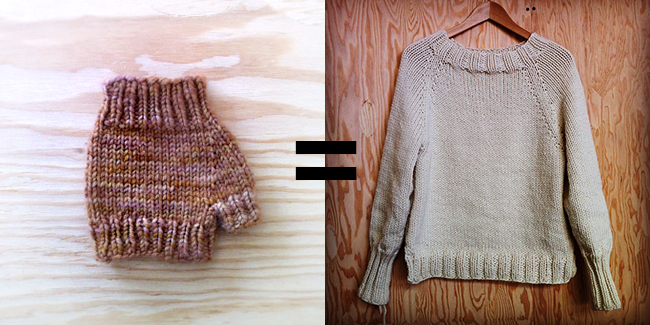 8efae8ebc71b How to improvise a top-down sweater  Introduction - Fringe Association