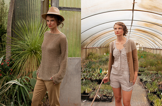 Shibui Mix No 13 and No 16 sweater patterns