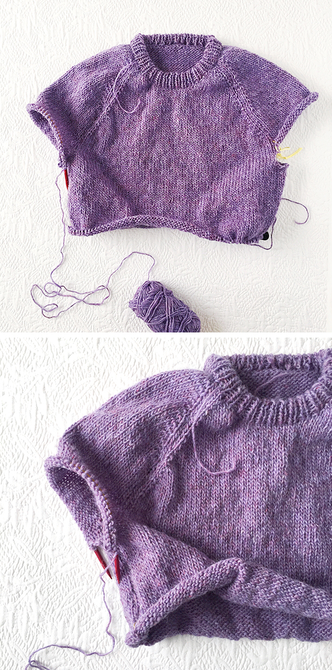 36a28d110 How to improvise a top-down sweater