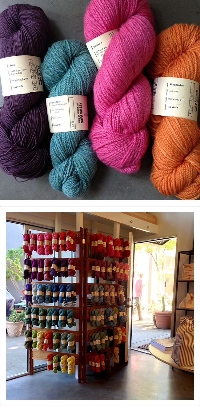 Sincere Sheep yarn special shopping event at Fringe Association / Fringe Supply Co.
