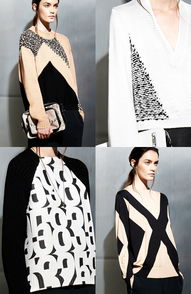 Sportmax Resort 2014 sweaters