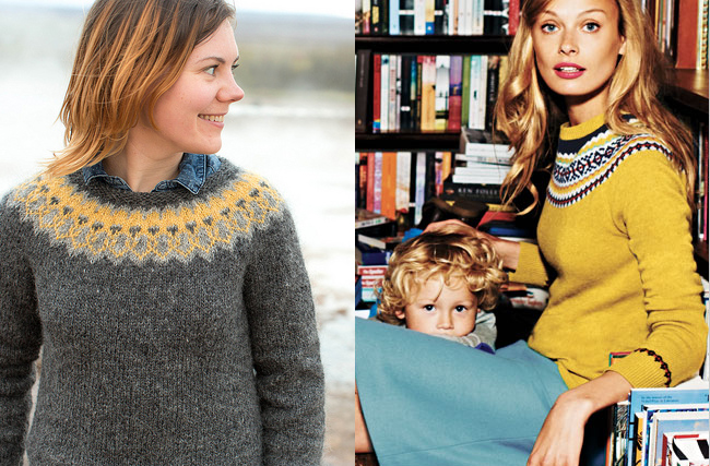 Knit your own Boden sweater