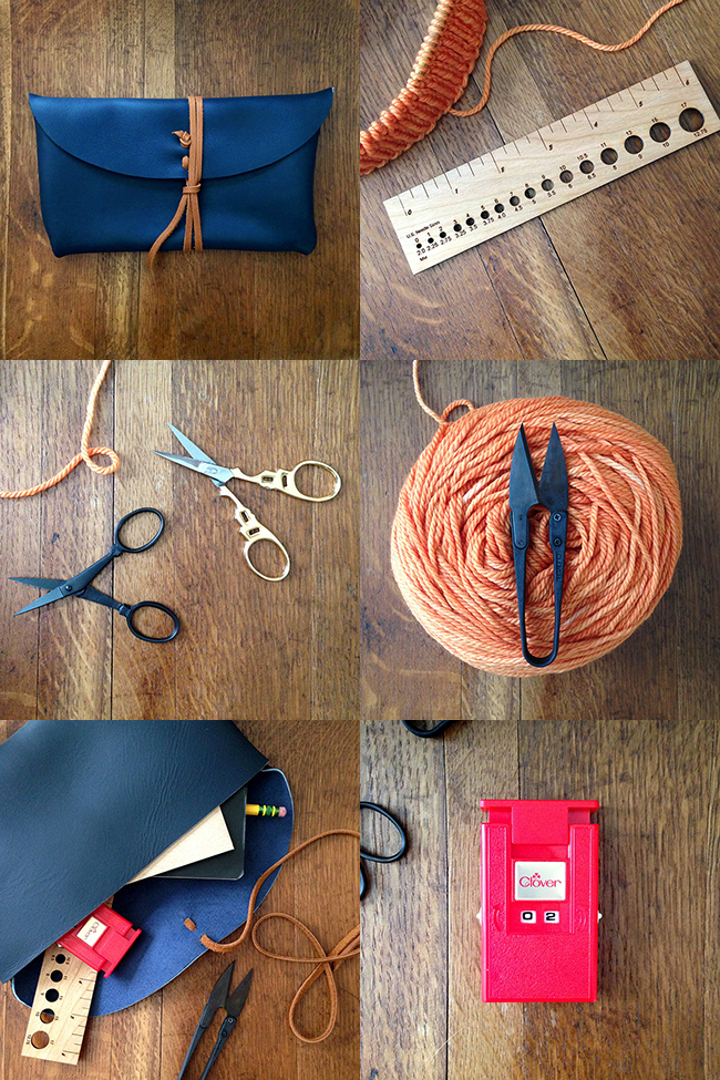 New Stitch & Hammer tools and pouch at Fringe Supply Co