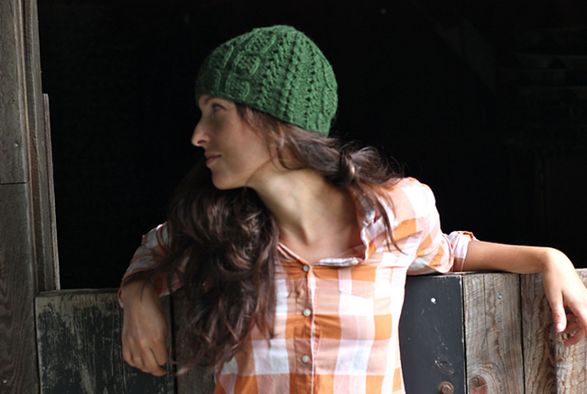 New Favorites: Mary Anne hat knitting pattern by Amy Christoffers