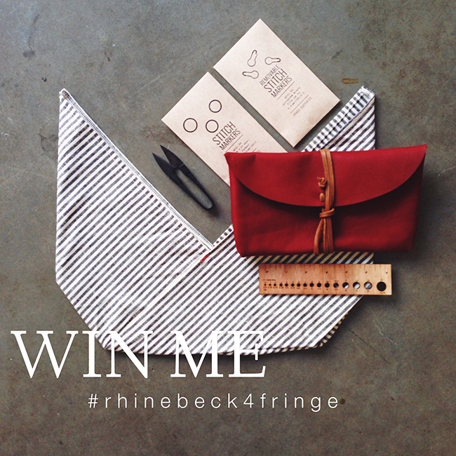 Show us your Rhinebeck Sweater, win fabulous prizes from Fringe Association and Fringe Supply Co. Click through for details