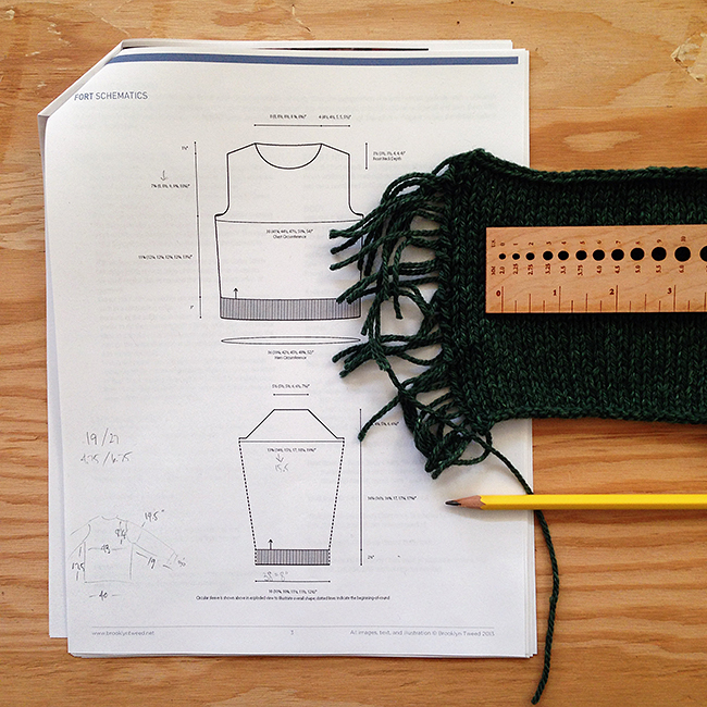 How to knit a sweater that fits