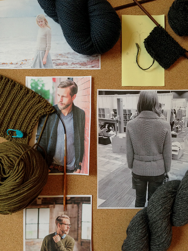 Organizing my to-knit list
