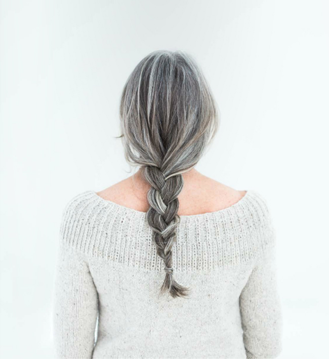 Perfect silver braid