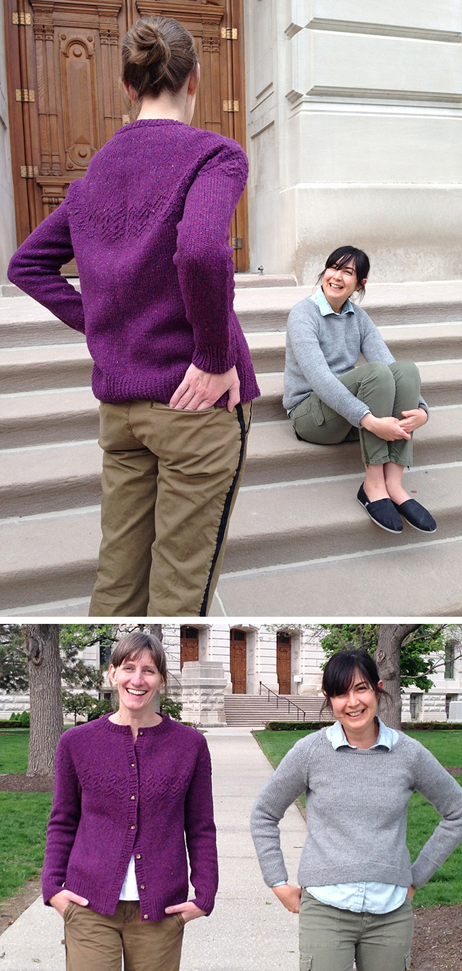 Tag Team Sweater Project: The results are in!