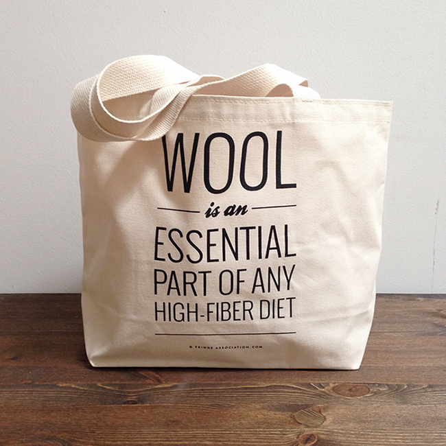 The high-fiber tote is back!