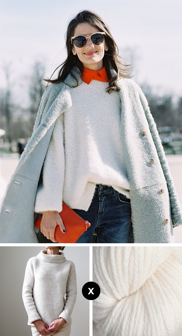 Knit the Look: Slouchy sweater perfection