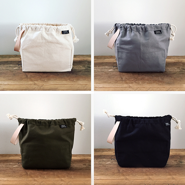 Fringe Supply Field Bag —now in colors!
