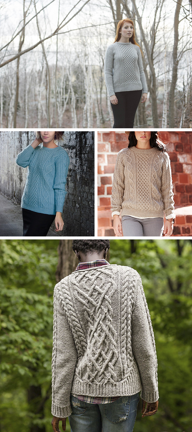 Best fisherman sweater patterns