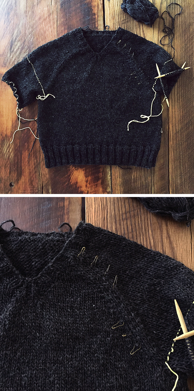 In defense of top-down sweaters
