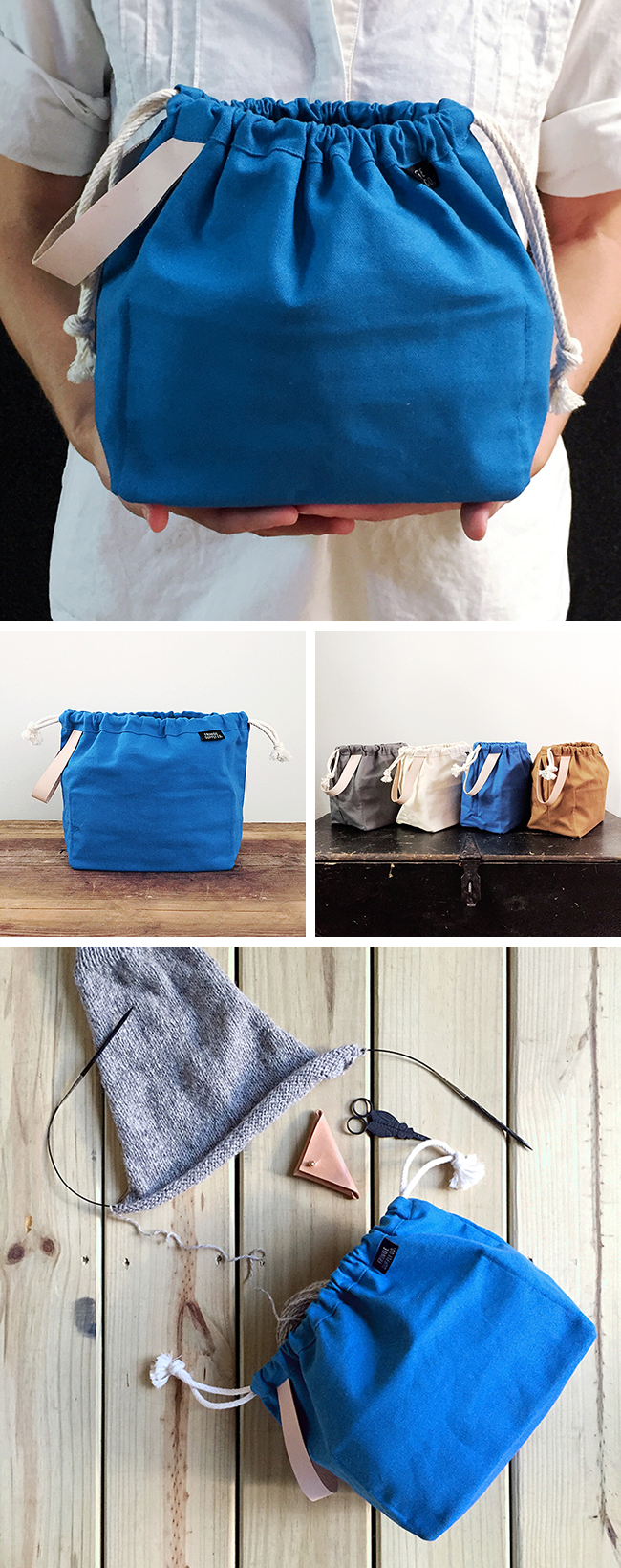 Introducing the new BLUE Fringe Field Bag