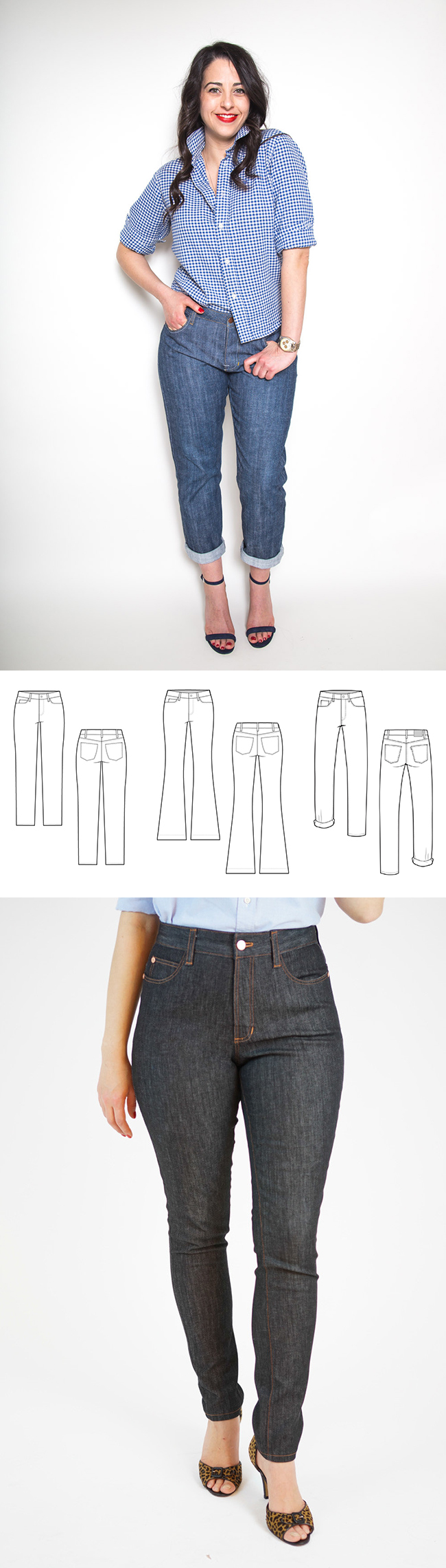 Make Your Own Basics: The blue jeans