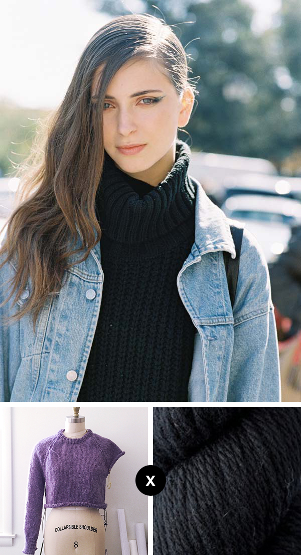 Knit the Look: Deepest, blackest turtleneck