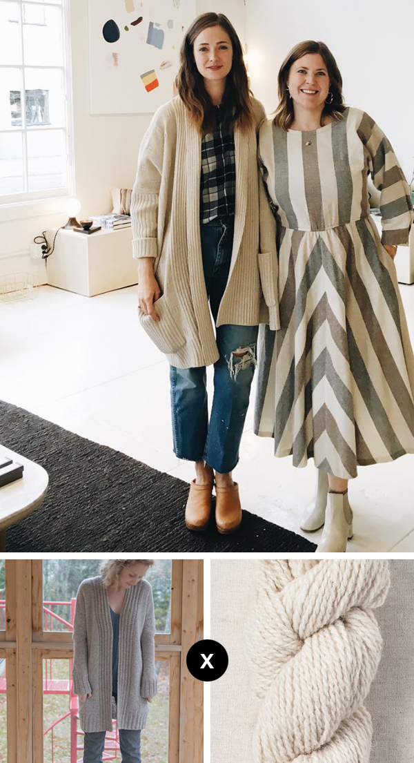 Knit the Look: Jenny Gordy's comfiest cardigan