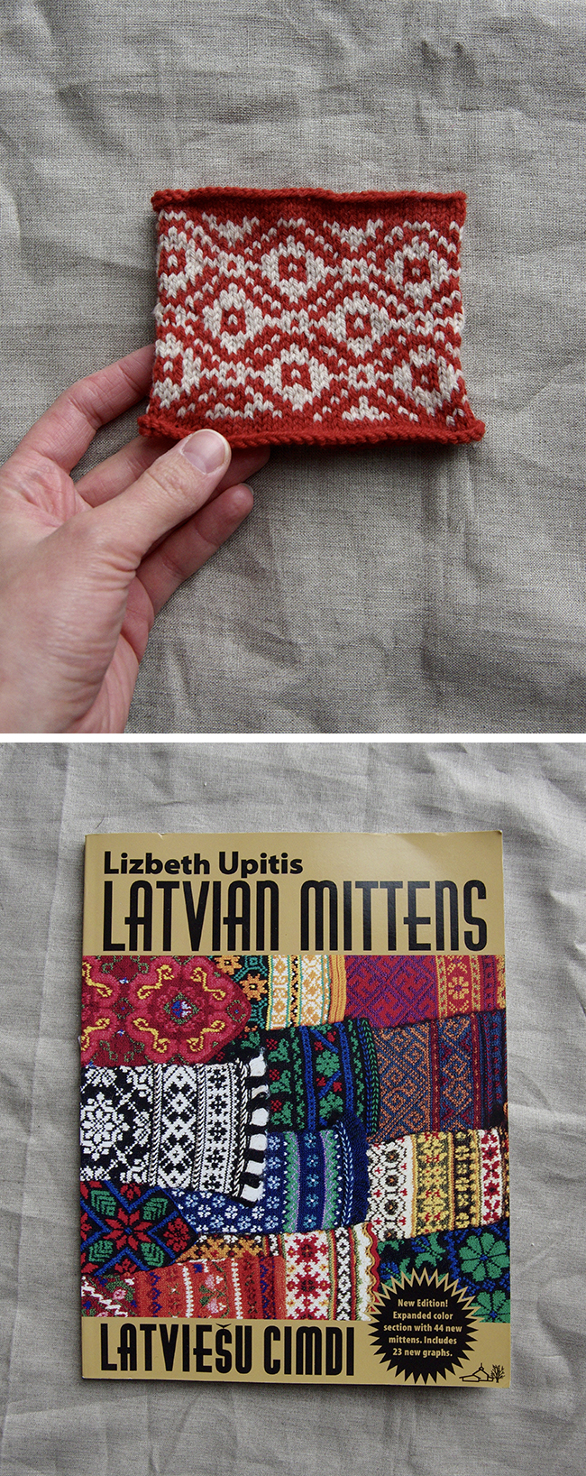 Swatch of the Month: Latvian cheer