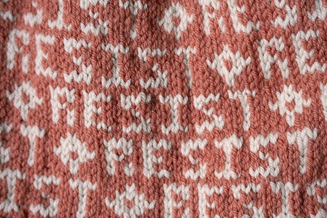 Swatch of the Month: The politics of knitting