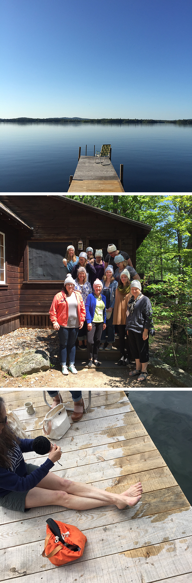 Squam 2017: Reflections and outfits