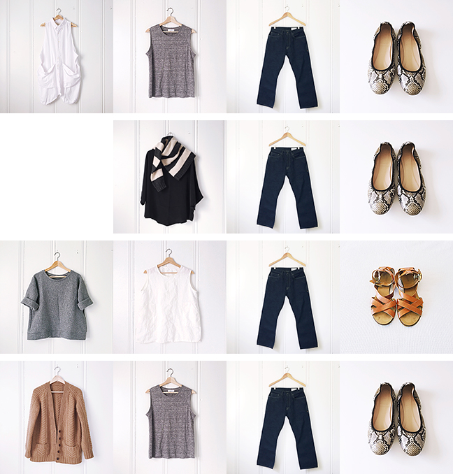 Wardrobe Planning: October outfits!