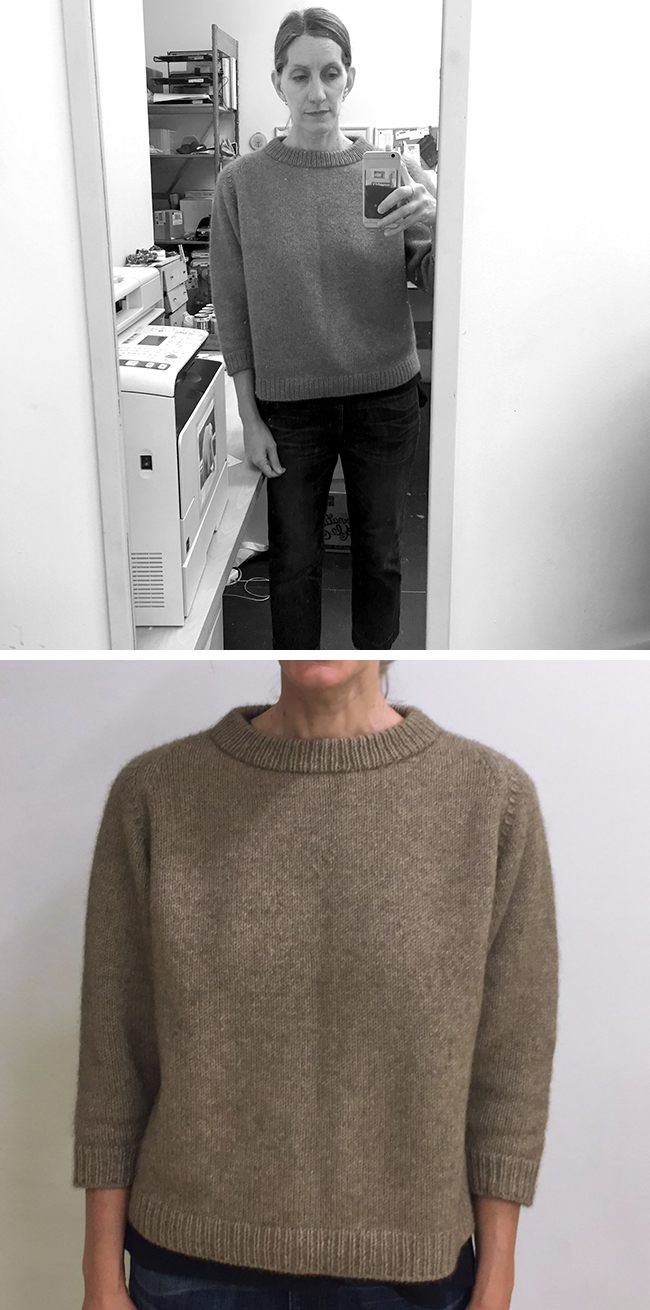Poor photos of me in a dreamy Cline sweater