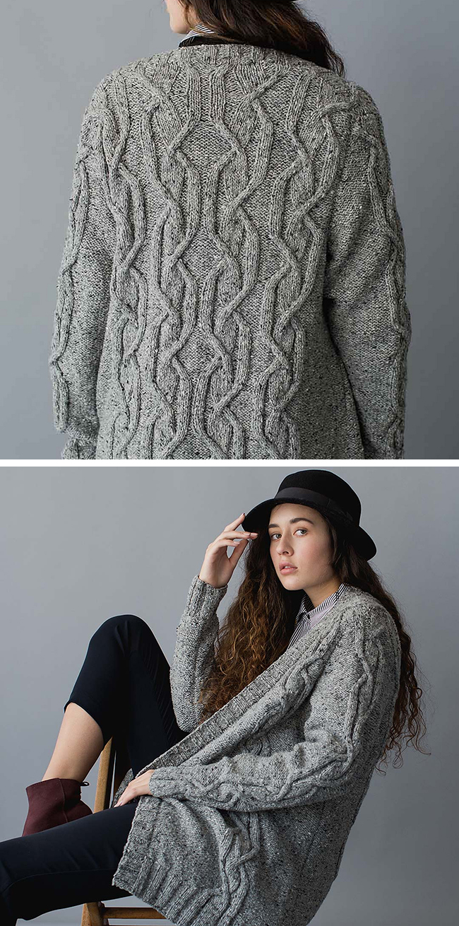 New Favorites: Menswear-inspired cable sweater patterns